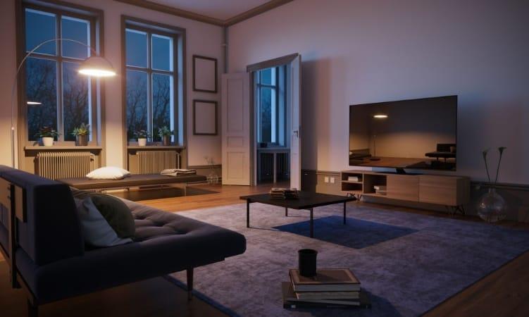 تحديد مقاسات غرفة المعيشة المناسبة