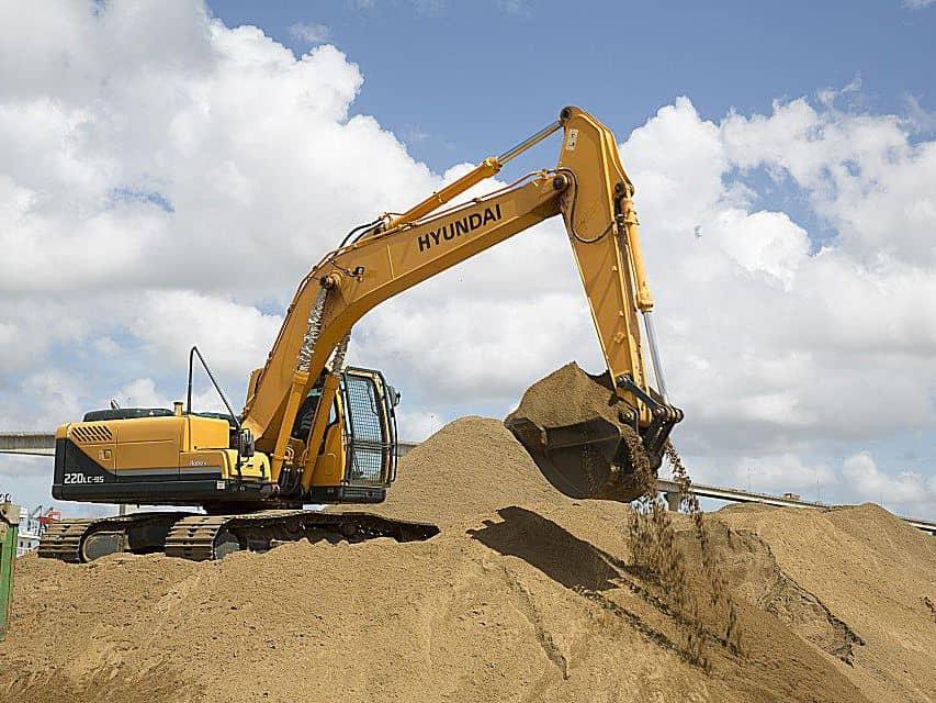 عوامل اختيار معدات حفر التربة