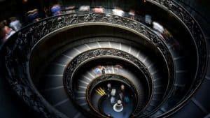تصميم السلالم الدائرية