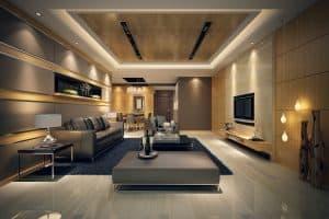 تصميم داخلي للمنازل مبني علي الأسس والقواعد المعارية